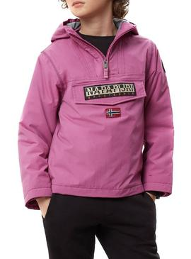 Chaqueta Napapijri Rainforest Winter Rosa Niños