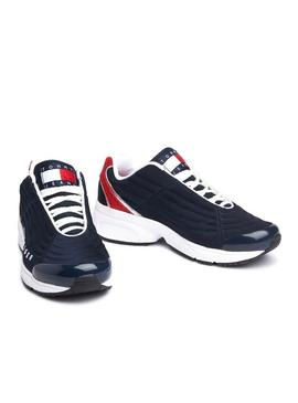 Zapatillas Tommy Hilfiger Heritage Marino Mujer