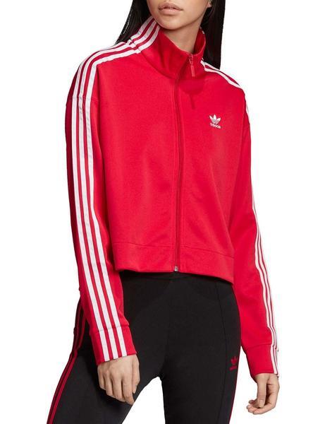 reunirse 61aba 16776 Chaqueta Adidas Rosa Para Mujer