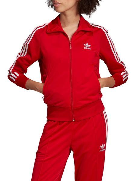 Chaqueta Adidas Firebird Rojo Mujer