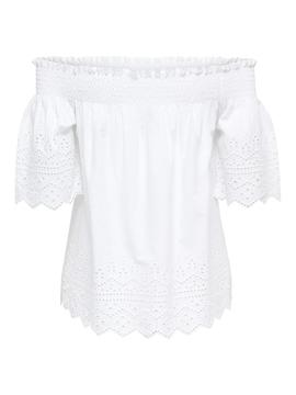 Top Only Shery Blanco Mujer