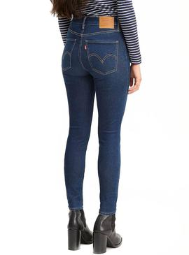 Pantalón Vaquero Levis Mile High On the Rise Mujer
