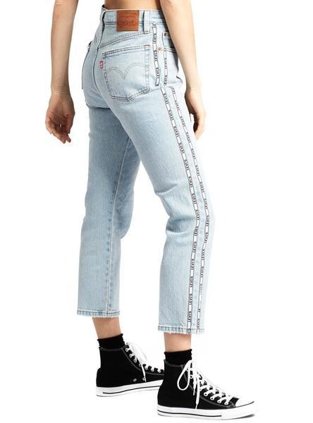 Pantalon Vaquero Levis 501 Crop Dibs Mujer