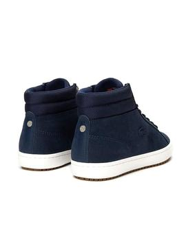 Botines Lacoste Straightset Insulac Marino Hombre