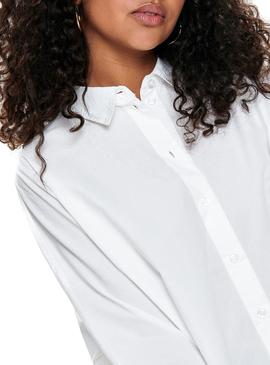 Camisa Only Grace Blanco Mujer