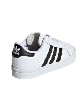 Zapatillas Adidas Coast Star Blanco Kids