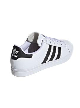Zapatillas Adidas Coast Star Blanco Teen