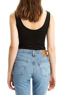 Body Levis Florence Negro Mujer
