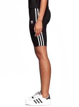 Mallas Adidas Cortas Cycling Negro Mujer