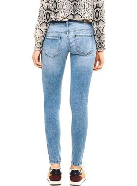 Pantalon Vaquero Only Coral REA3269 Light Mujer