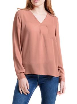 Blusa Only Bailey Coral