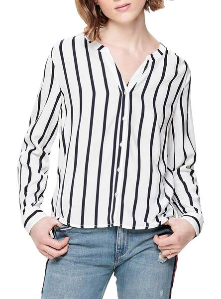 Camisa Only Sugar Fallow Listas Mujer