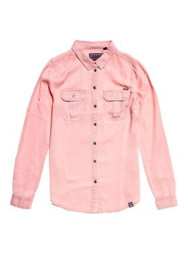 Camisa Superdry Xenia Rosa Mujer
