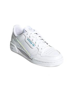 Zapatillas Adidas Continental 80J Blanco Teen