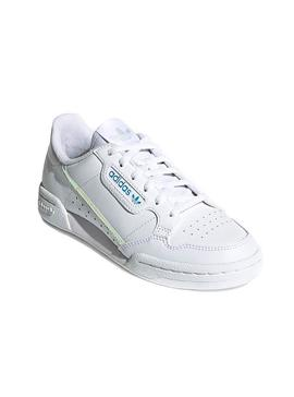 Zapatillas Adidas Continental 80C Blanco Kids