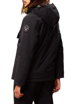 Chaqueta Napapijri Rainforest Winter Negro Mujer