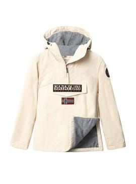 Chaqueta Napapijri Rainforest Winter Beige Mujer