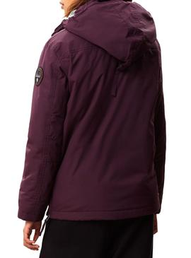 Chaqueta Napapijri Rainforest Winter Violeta Mujer