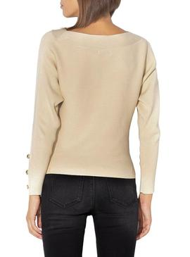Jersey Only Adalyn Beige Para Mujer