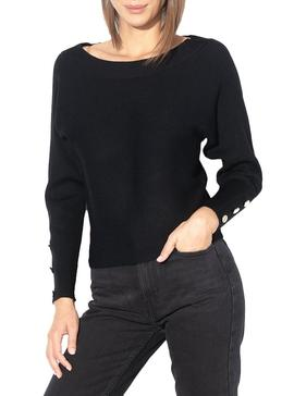 Jersey Only Adalyn Negro Para Mujer