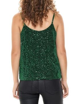 Top Only Duna Verde para Mujer