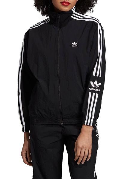 Chaqueta Adidas Lock Negro Para Mujer