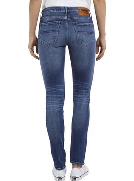 Pantalon Vaquero Tommy Jeans Durham Mujer
