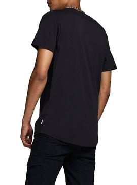 Camiseta Jack and Jones Comace Negro Para Hombre