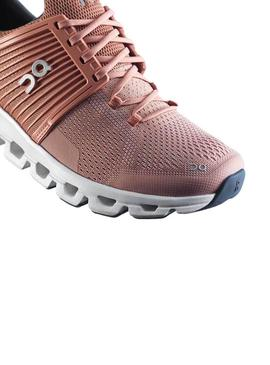 Zapatillas On Running Cloud Swift Blush Mujer