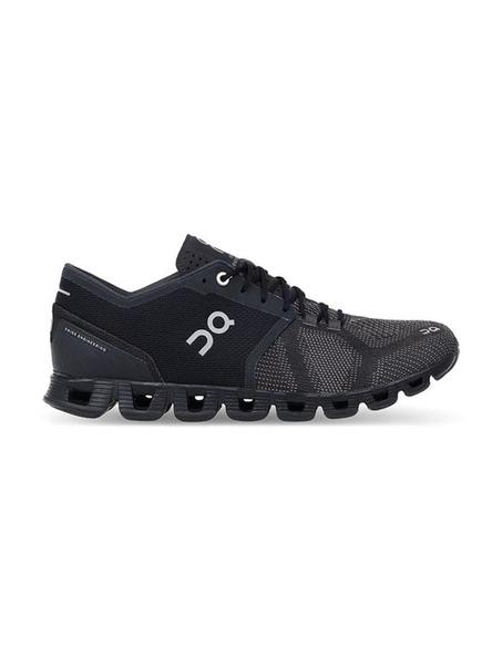 Zapatillas On Running Cloud X Black Asphalt Mujer