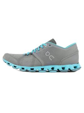 Zapatillas On Running Cloud X Gris Para Mujer