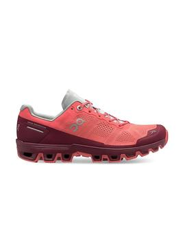 Zapatillas On Running Cloud Venture Coral Mujer