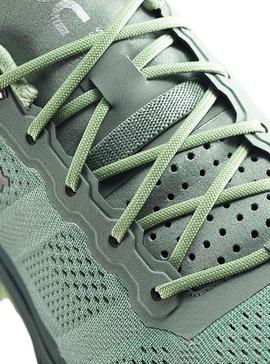Zapatillas On Running Cloud Venture Olive Mujer