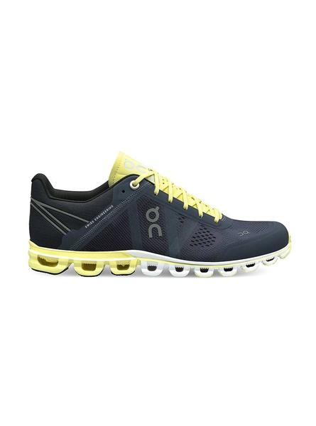Zapatillas On Running Flow Smoke Lime Mujer