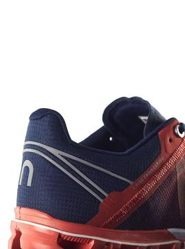 Zapatillas On Running Flow Rust Pacific Hombre