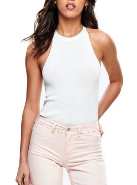 Top Only Brielle Blanco Mujer