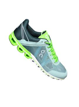 Zapatillas On Running Cloud Flow Moss Lime Hombre