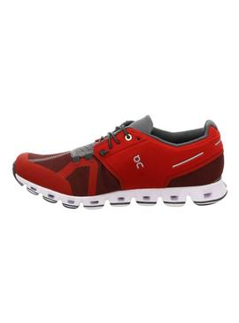 Zapatillas On Running Cloud Red Ox Para Mujer