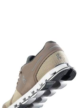 Zapatillas On Running Cloud Clay Sand Hombre