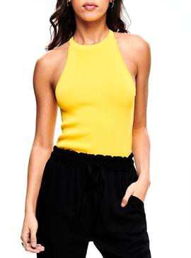 Top Only Brielle Amarillo Mujer