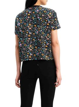 Camiseta Levis Graphic Floral Para Mujer