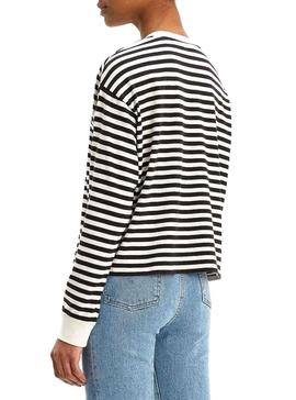 Camiseta Levis Graphic Stripes Para Mujer