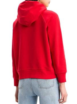 Sudadera Levis Graphic Sport HSMK Rojo Mujer
