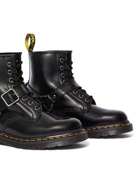 Botas Dr Martens 1460 Harness Negro Mujer