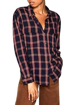 Camisa Pepe Jeans Marvina Cuadros Mujer
