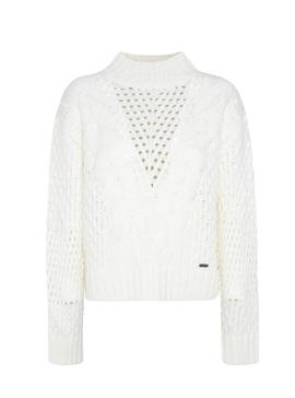 Jersey Pepe Jeans Helaia Beige Para Mujer