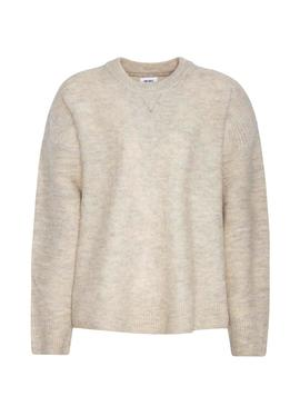 Jersey Pepe Jeans Angella Beige Para Mujer