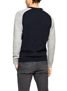 Jersey Pepe Jeans Sunrise Marino Para Hombre