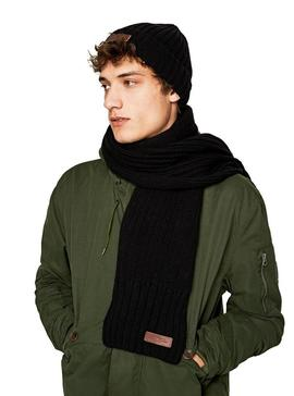 Gorro Pepe Jeans New Ural Negro Para Hombre