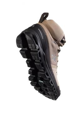 Botas On Running Cloudrock Waterproof Sand Hombre